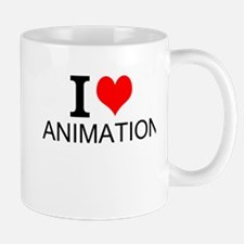 I Love Animation Mugs