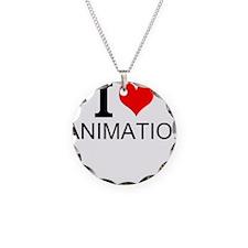 I Love Animation Necklace