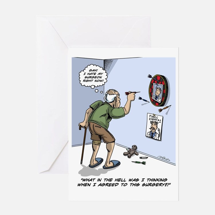 Cute Funny recovery Greeting Card
