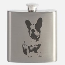 French Bulldog Flask