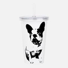 French Bulldog Acrylic Double-wall Tumbler