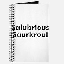 Salubrious Saurkrout Journal
