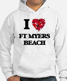I love Ft Myers Beach Florida Hoodie