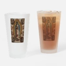 Unique Our lady guadalupe Drinking Glass