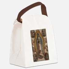 Cute Guadalupe Canvas Lunch Bag
