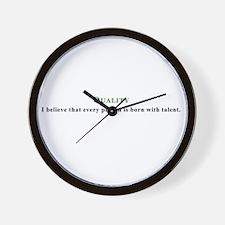 480251 Wall Clock