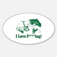 Cute Fishing baby Decal