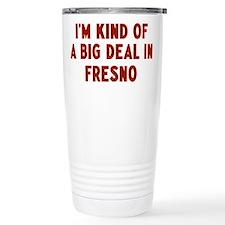 Cute Fresno Thermos Mug
