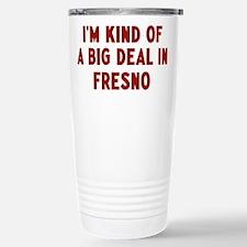 Unique Fresno Travel Mug