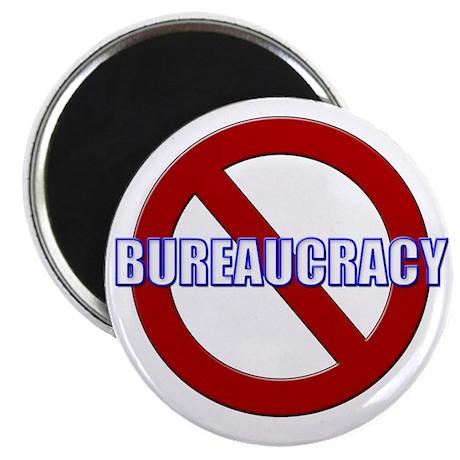 No Bureaucracy! Magnet