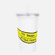 Banana Friend LRG Acrylic Double-wall Tumbler