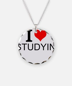 I Love Studying Necklace