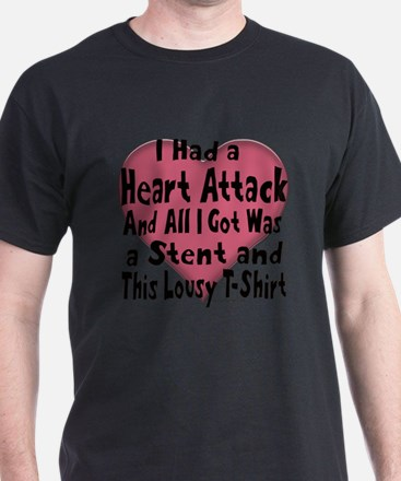 Funny Heart attack T-Shirt