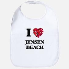 I love Jensen Beach Florida Bib