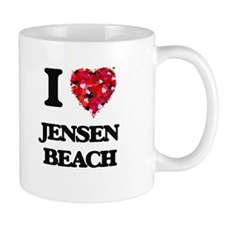 I love Jensen Beach Florida Mugs