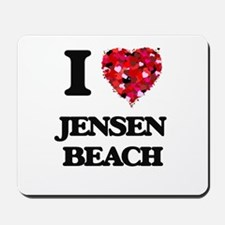 I love Jensen Beach Florida Mousepad