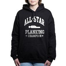 Cute Plank Women's Hooded Sweatshirt