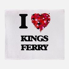 I love Kings Ferry Georgia Throw Blanket