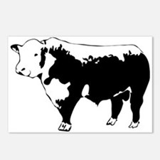 Unique Cattle Postcards (Package of 8)
