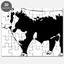 Cute Hereford cattle Puzzle