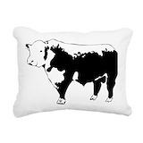 Cow Rectangle Canvas Pillows