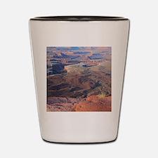 Cool Canyonlands Shot Glass