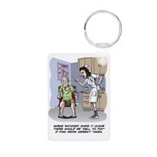 Cute Knee surgery Keychains