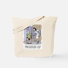 Cute Knee replacement Tote Bag