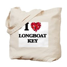I love Longboat Key Florida Tote Bag