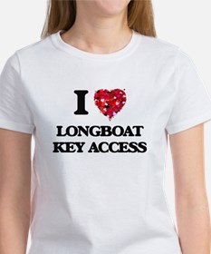 I love Longboat Key Access Florida T-Shirt
