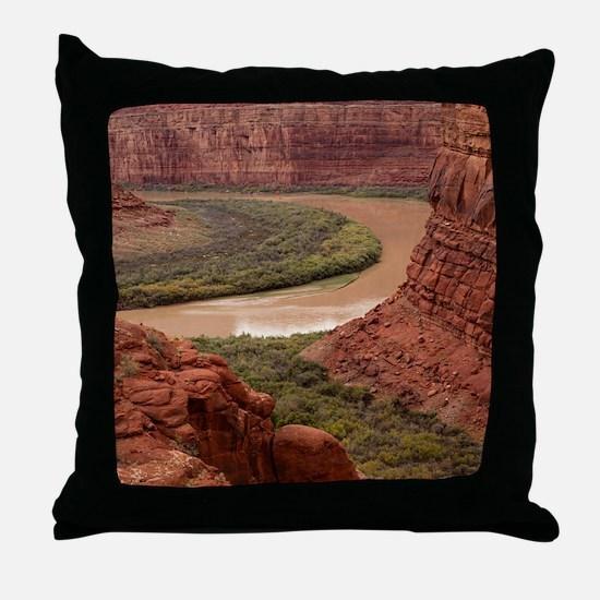 Cute Canyonlands Throw Pillow