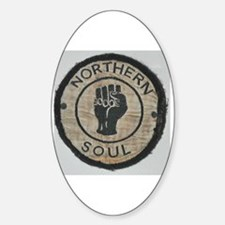 Funny Northern soul Sticker (Oval)