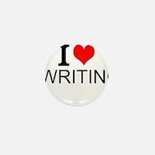 I Love Writing Mini Button (100 pack)