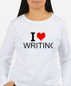 I Love Writing Long Sleeve T-Shirt