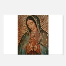 Cute Our lady of guadalupe Postcards (Package of 8)
