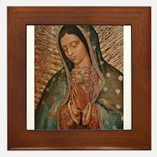 Cute Mary Framed Tile