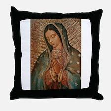 Cute Virgin mary Throw Pillow