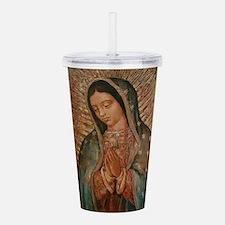 Funny Catholic faith Acrylic Double-wall Tumbler