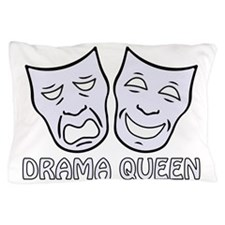Cute Comedy and tragedy Pillow Case