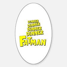 Unique Fat Sticker (Oval)