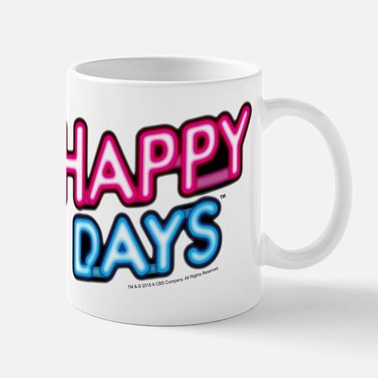 Happy Days Neon Light Mug