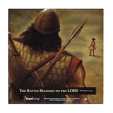 David and Goliath Tile Coaster