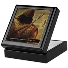 David and Goliath Keepsake Box