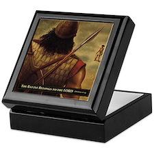 David and Goliath Keepsake Box