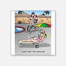 Club Med for Seniors Sticker