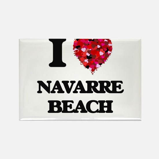 I love Navarre Beach Florida Magnets