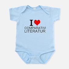 I Love Comparative Literature Body Suit