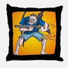 Funny Knee Throw Pillow