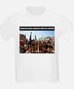 Mount Sinjar has been liberated by the Kur T-Shirt