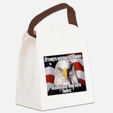 America Tried to Remain Neutral B Canvas Lunch Bag
